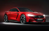 Ford Mustang hybrid render 2020 - static front