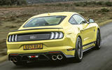 3 Ford Mustang Mach 1 2021 UK first drive review hero rear