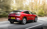 3 Ford Mustang Mach E 2021 UK first drive review hero rear