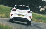 3 Ford Puma ST Mountune m260 2021 UK FD hero rear