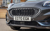 Ford Puma Vignale 2020 UK first drive review - nose