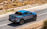 Ford Ranger Raptor 2019 first drive review - hero rear