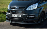 Ford Transit MS-RT custom review front end