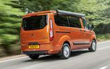 3 Ford Transit Nugget 2021 UK FD hero rear