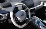 Geely Geometry A 2019 prototype drive - dashboard