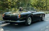 3 GTO California Spyder revival 2021 UK FD hero rear
