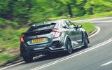 3 Honda Civic Type R Sportsline 2021 UK FD hero rear