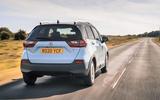 Honda Jazz Crosstar 2020 UK first drive review - hero rear