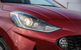 Hyundai i10 2020 first drive review - front lights