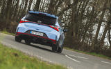 3 Hyundai i20 N 2021 UK first drive review hero rear