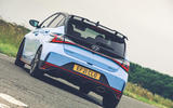 3 Hyundai i20N 2021 RHD UK FD hero rear