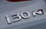 Hyundai i30 N 2018 UK review i30 N badge