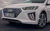 Hyundai Ioniq plug-in hybrid 2019 first drive review - front bumper