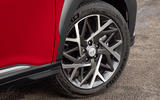 3 Hyundai Kona 1.6 hybrid 2021 UK first drive review alloy wheels