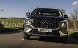 3 Hyundai Santa fe 2021 UK first drive review hero nose