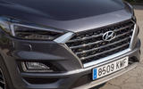 Hyundai Tucson 2.0 CRDI 48v 2018 first drive review front end