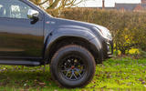 Isuzu D-Max Arctic Trucks 2020 UK first drive review - alloy wheels