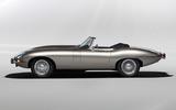 Jaguar E-Type Zero concept - static side