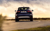 3 Jaguar F Pace P400e 2021 uk first drive review hero rear