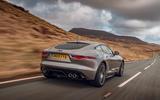Jaguar F-Type 2020 UK first drive review - hero rear