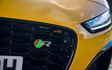 Jaguar F-Type Coupé 2020 first drive review - bonnet badge