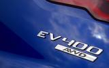 Jaguar I-Pace EV400 UK first drive review bonnet badge