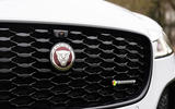 3 Jaguar XF 2021 UK first drive review grille