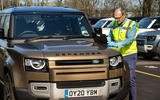 Jaguar Land Rover lends vehicles to Red Cross and NHS
