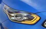 Kia Ceed 2018 first drive review headlights