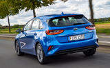 Kia Ceed 1.6 CRDi 48v iMT 2020 first drive review - hero rear