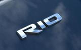 Kia Rio GT Line 2018 UK first drive review Rio badge