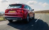 Kia Sorento hybrid 2020 UK first drive review - hero rear