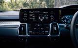 Kia Sorento hybrid 2020 UK first drive review - infotainment