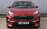 Kia Sportage 1.6 GDI '2' 2018 UK first drive front end