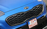 Kia Sportage GT-Line S 48V 2018 first drive review front grille