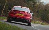 3 Kia Stinger GT S 2021 UK review hero rear