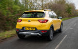 3 Kia Stonic 48v 2021 UK first drive review hero rear
