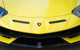 Lamborghini Aventador SVJ 2018 first drive review front end