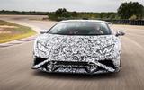Lamborghini Huracan STO 2020 first drive review - hero nose