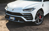 Lamborghini Urus 2018 UK first drive review front end