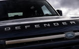 Land Rover Defender 90 P400 X 2020 UK first drive review - bonnet