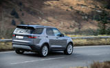 3 Land Rover Discovery D300 2021 UK first drive review hero rear