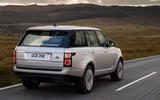 Land Rover Range Rover D300 2020 UK first drive review - hero rear