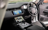 Land Rover Range Rover Evoque P200 2019 UK first drive review - cabin