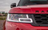 Land Rover Range Rover Sport HST 2019 UK first drive review - headlights