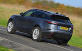 Land Rover Range Rover Velar 2019 UK first drive review - hero rear
