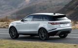 3 Land Rover Range Rover Velar PHEV 2021 UK first drive review hero rear