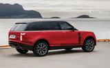 Land Rover Range Rover render 2020 - static rear
