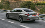 Lexus ES 2019 first drive review - hero rear