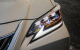 Lexus ES 300h 2018 review headlights